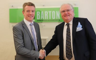 NR Barton visited by Metalfloor UK chairman Lord Digby Jones