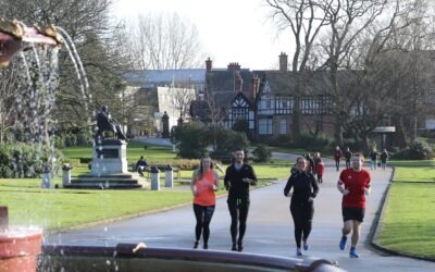 Team NRB running to raise funds for local charities