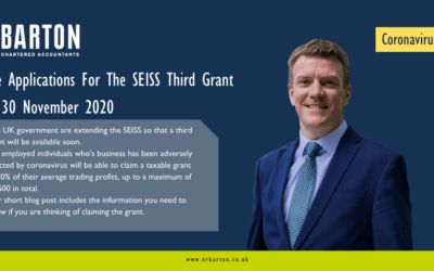 Self-Employment Income Support Scheme (SEISS) Grant Extension: Third Grant Available Soon