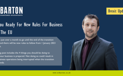 Are You Ready For New Rules For Business With The EU?