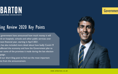 Rishi Sunak Releases the Main Points From the 2020 Spending Review