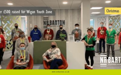 NR Barton Team Raise Over £500 For Wigan Youth Zone