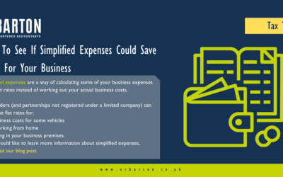 Check to see if simplified expenses could save money for your business