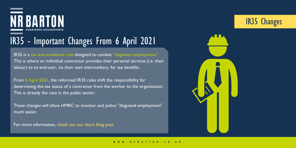 IR35 – Important Changes From 6 April 2021