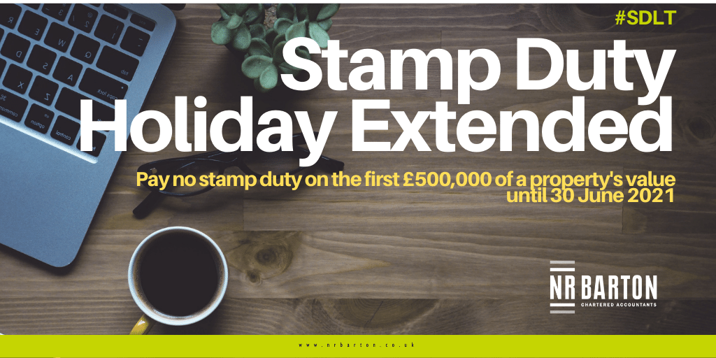 The Stamp Duty Land Tax Holiday Has Been Extended