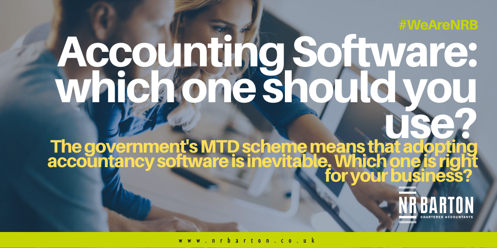 Accounting Software: Which one should you use?