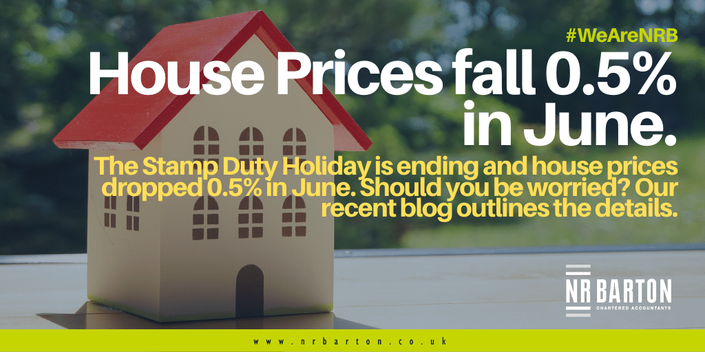 House prices fall 0.5% in June, should we be concerned?