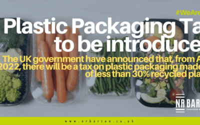 Plastic Packaging Tax to be introduced within the UK