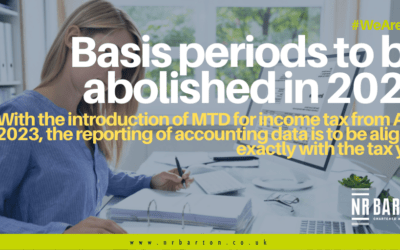 Basis Periods to be abolished in 2022: what does this mean for your business?