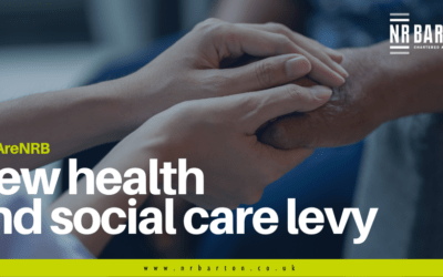 National Insurance and income taxes increased to pay for a new social care levy